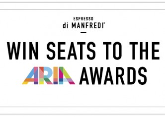 Get set to hit the ARIAs & after party with Espresso Di Manfredi